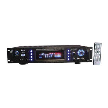 3000-Watt Hybrid Home Stereo Receiver Amplifier by