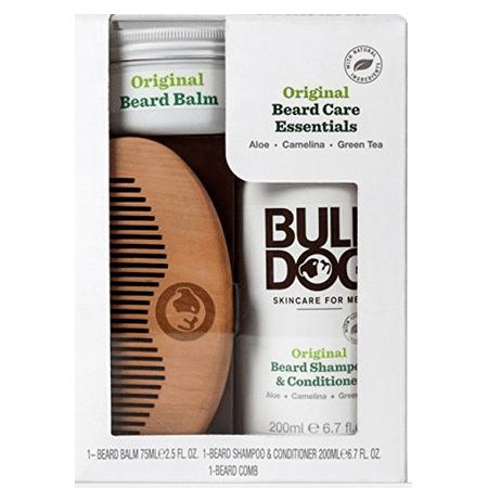 Bulldog Skincare and Grooming for Men Original Beard Care Essentials Kit, 3 -