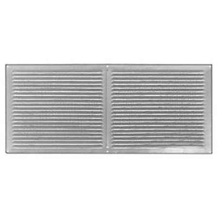 4PK S168, Galvanized, Soffit Vent, 58 SQIN Free Area, With 1/8