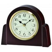 Seiko Chartres Alarm Dark Clock - Black Hands - White Dial - QXE044BLH
