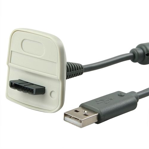 Insten For Xbox 360 Wireless Game Controller USB Charging Cable