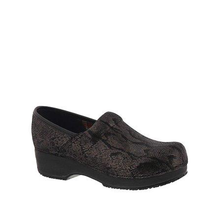 - Skechers Work Womens Clog, Black/Black, Size 8.0