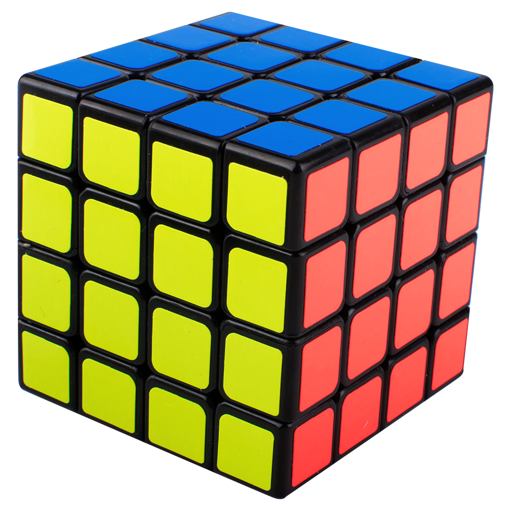 Speed Rubik Cube, Black Base Magic Cube 6 color Puzzles Development Intelligence Special Toys Brain Teaser Gift Box, 4x4 Stickerless Develop Brain And Logic Thinking Ability Best Gift