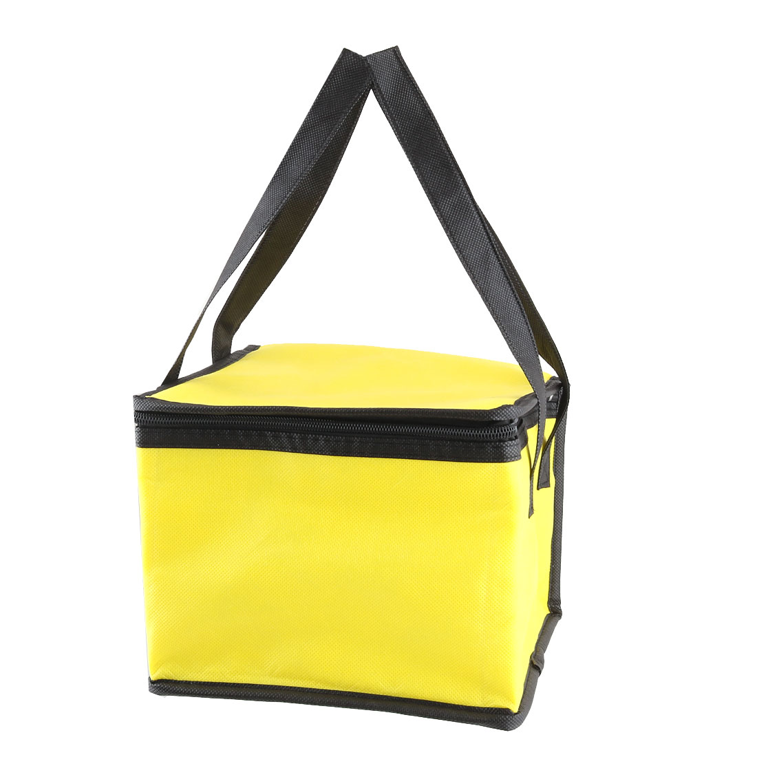 Travel Zippered Strap Food Cooler Carry Tote Lunch Storage Picnic Bag