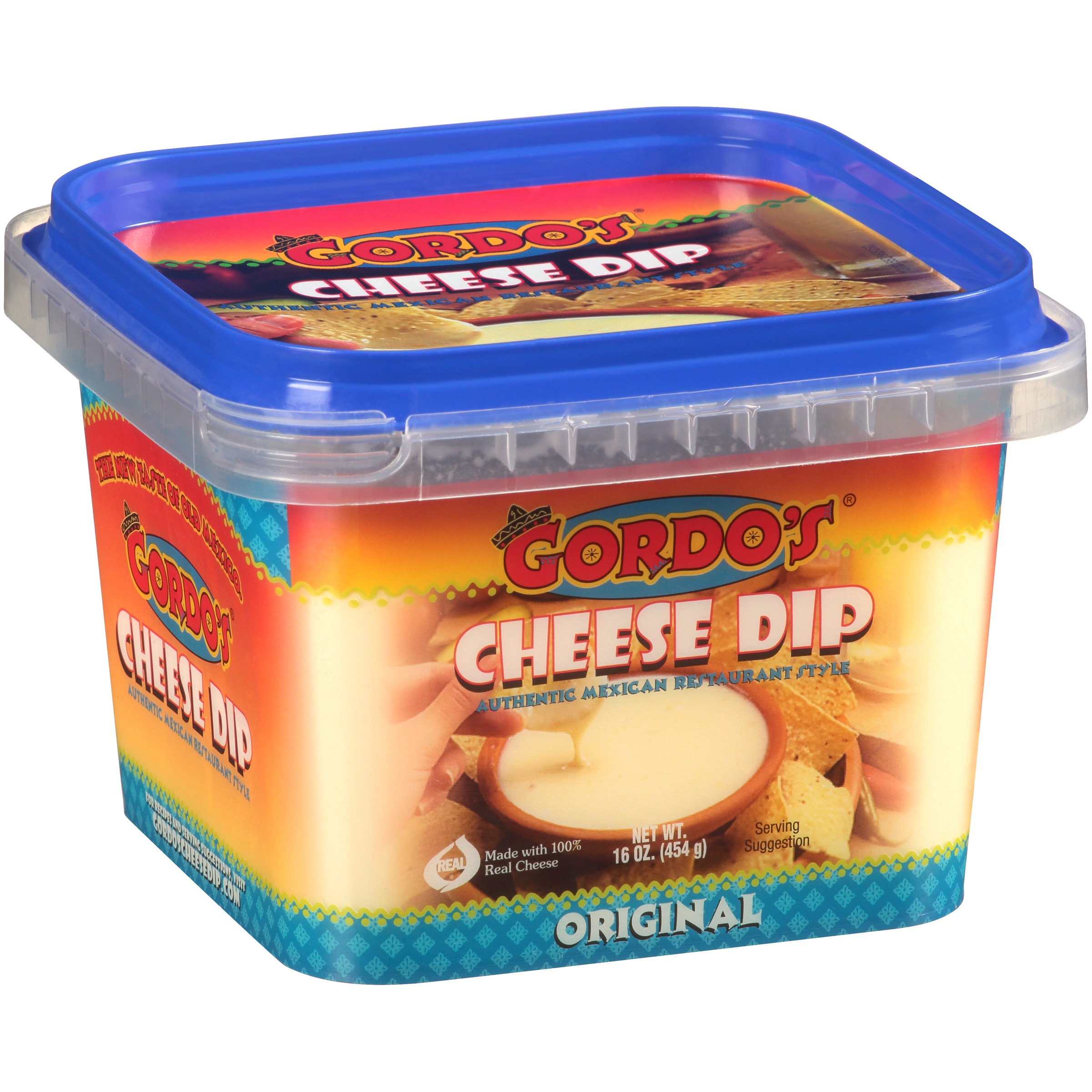 Gordo's® Original Cheese Dip 16 oz. Tub