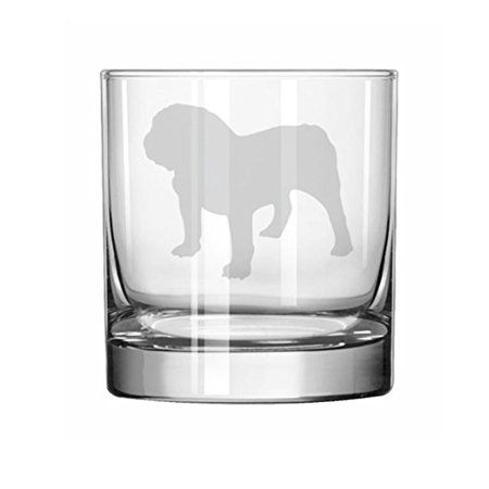 - 11 oz Rocks Whiskey Highball Glass Bulldog