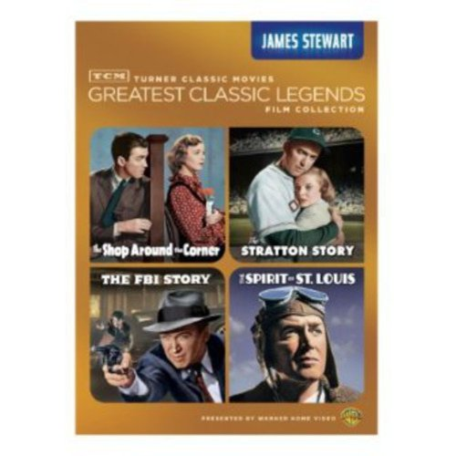 TCM Greatest Classic Films: Legends - James Stewart: The Shop Around The Corner / The Stratton Story / The Spirit Of St. Louis / The FBI Story