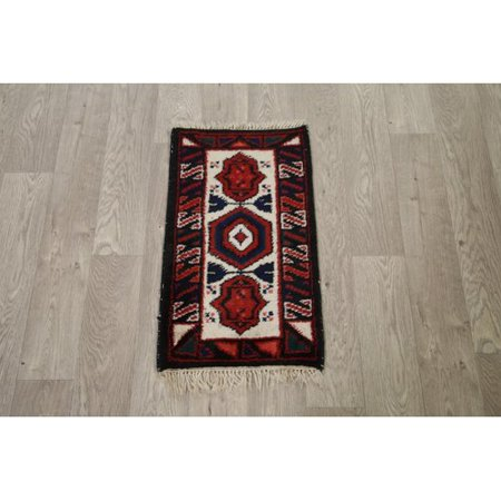 Bloomsbury Market Miami Classical Heriz Oriental Small Hand Knotted