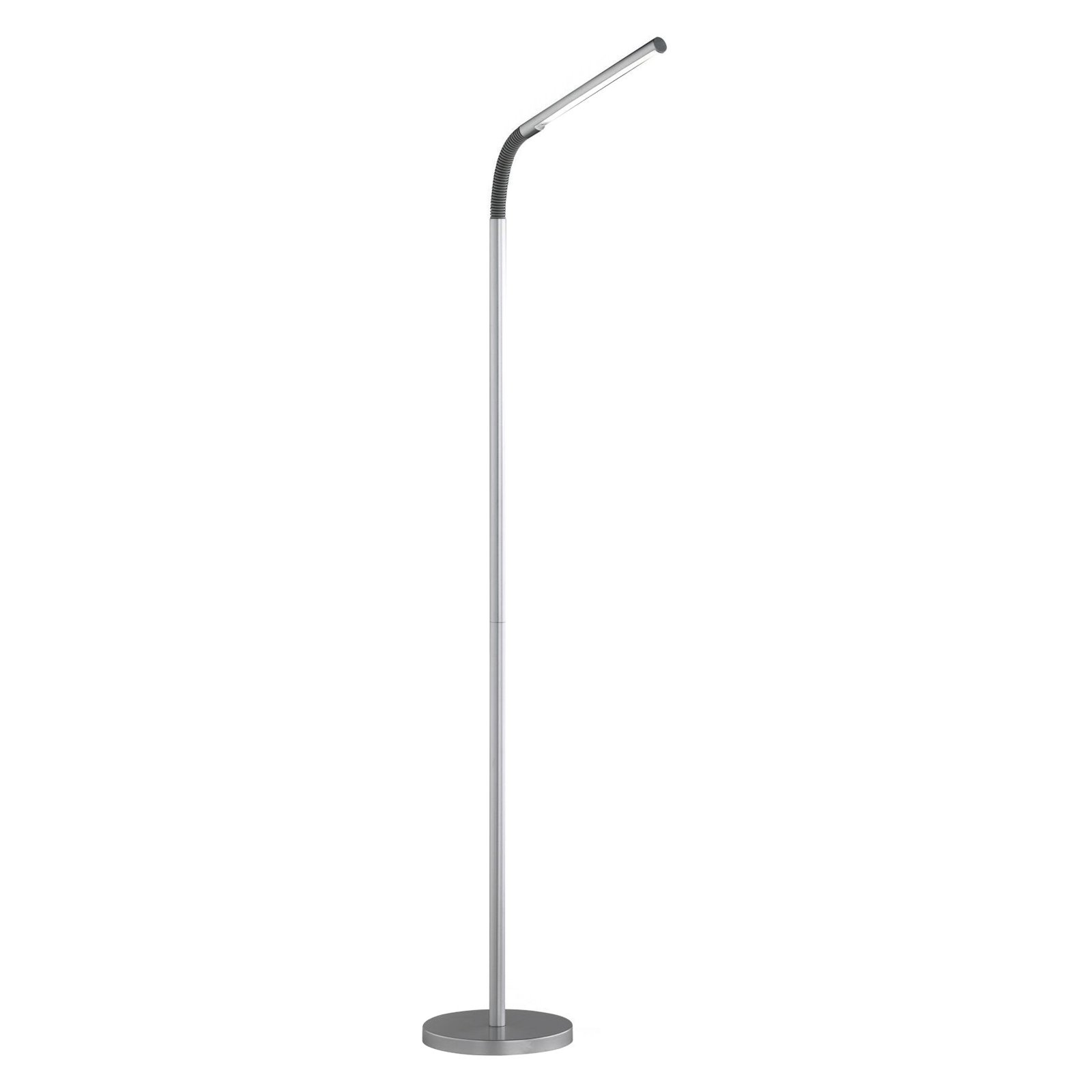 "LED Floor Lamp, Silver, Energy Saving, Light Source for reading or Computer use. Product Size: 7.87"" x 60.24""... by Generic"