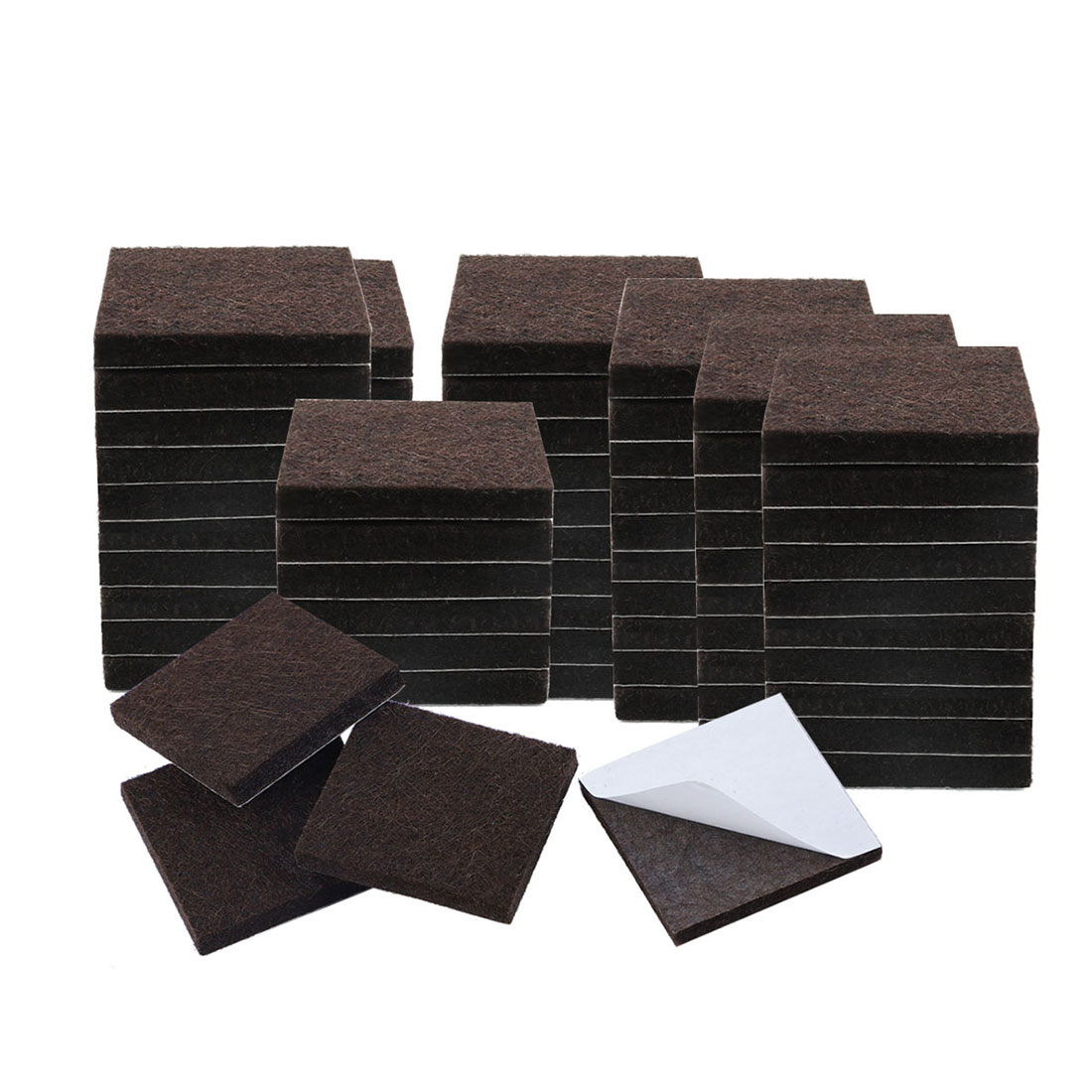 "Felt Furniture Pads Square 7/8"" Self Adhesive Anti-scratch Floor Protector 70pcs - image 7 de 7"