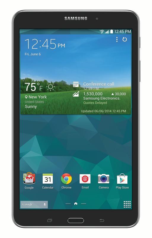 Samsung Galaxy Tab 4 4G LTE Tablet, Black 8-Inch 16GB (Verizon