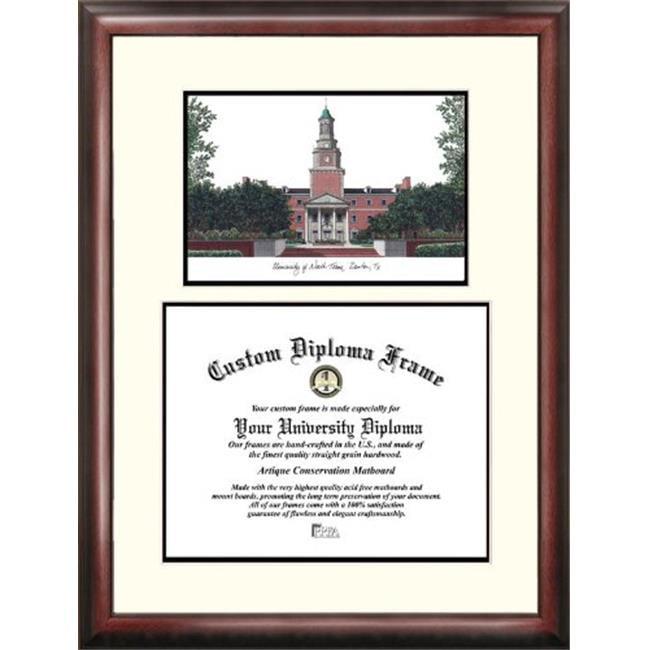 "University of North Texas 11"" x 14"" Scholar Diploma Frame"