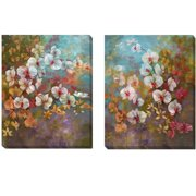 Artistic Home Gallery 'Bali Garden' by Nan 2 Piece Painting Print on Wrapped Canvas Set