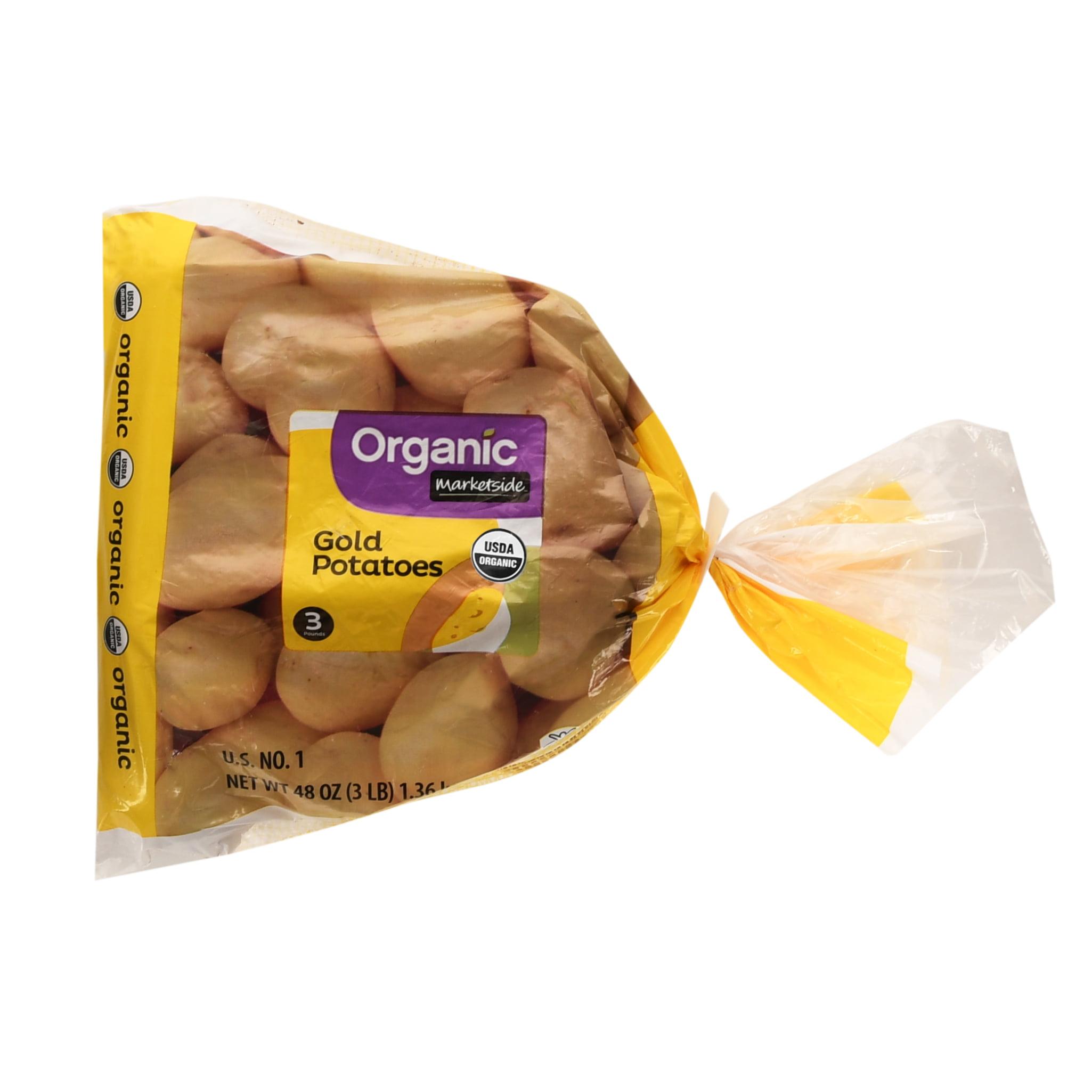 Marketside Organic Gold Potatoes, 3 lb Bag