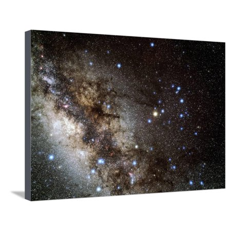 Scorpius Constellation Stretched Canvas Print Wall Art By Eckhard ...