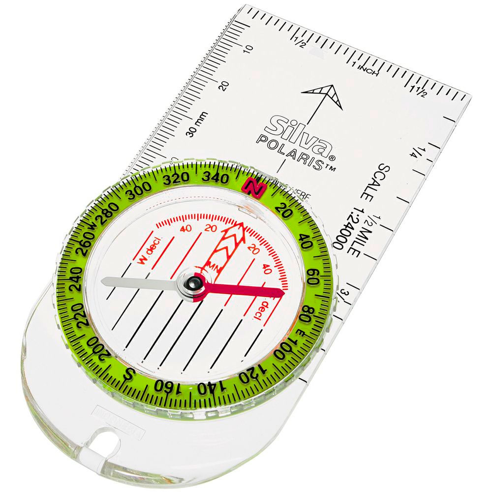 Silva Polaris (Hi-Vis) Compass by