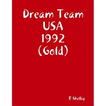 Dream Team USA 1992 (Gold) - (E Gold Usa)