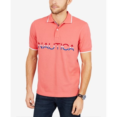 Mens Embroidered Chest Wicking Polo Rugby Shirt -