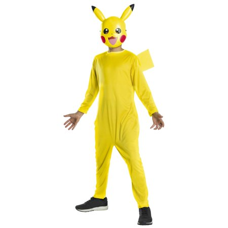 Pokemon Childrens Pikachu Halloween - Childrens Zombie Halloween Costumes Uk