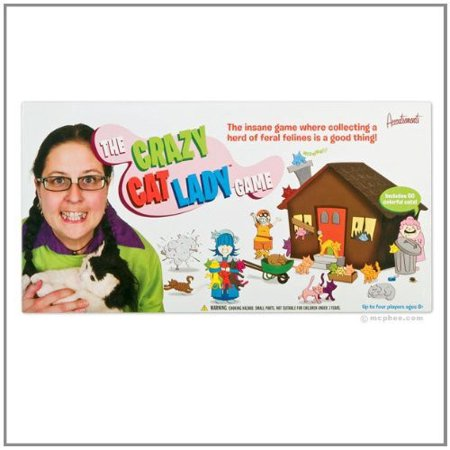 Crazy Cat Lady Board Game - Cat In The Hat Game