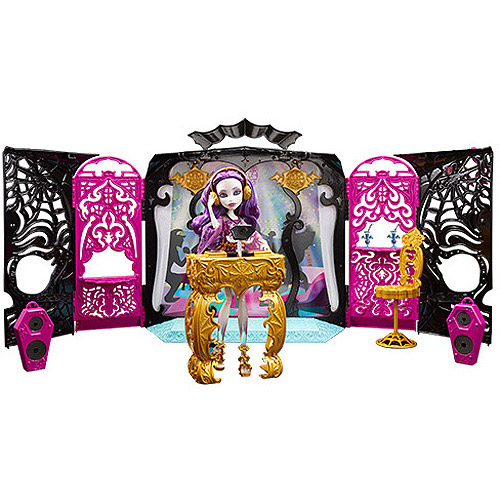 Mattel Monster High 13 Wishes Party Lounge Playset with Spectra Vondergeist Doll