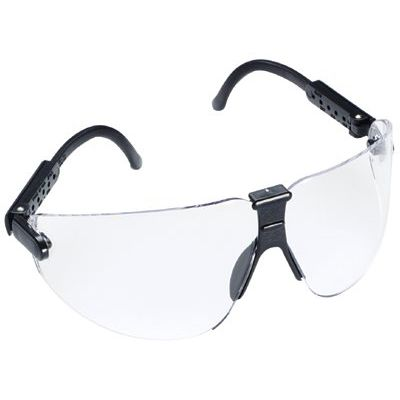 Image of Aearo Technologies Safety Glasses Slate Frame With Large Clear Lens