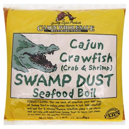 Cajun Crawfish (Crab & Shrimp) Swamp Dust 4LB
