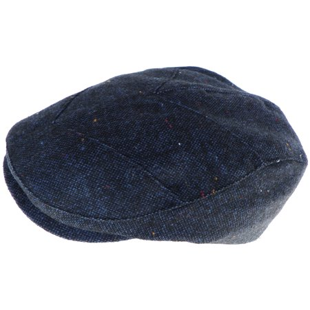 Broner Wool Blend Tweed Ivy Scally Cap Modified 5 Point Design Driver Hat Newsboy Gatsby Cabbie 4469