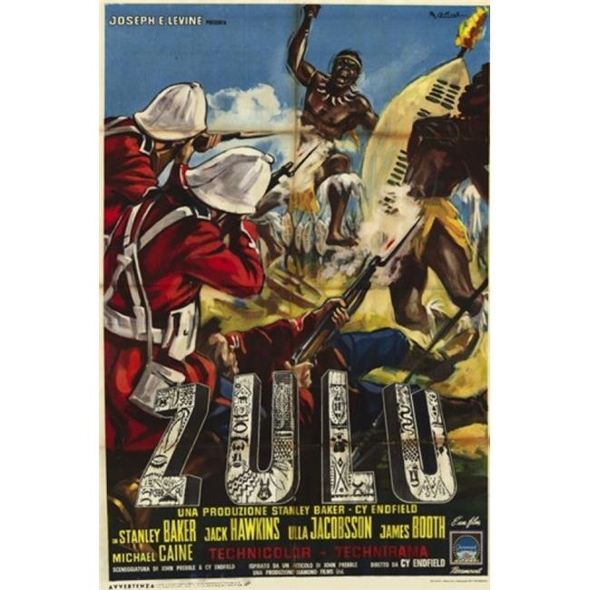 Pop Culture Graphics Mov206982 Zulu Movie Poster 11 X 17