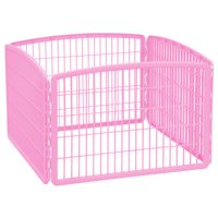 IRIS 4-Panel Plastic Exercise Dog Playpen Deals