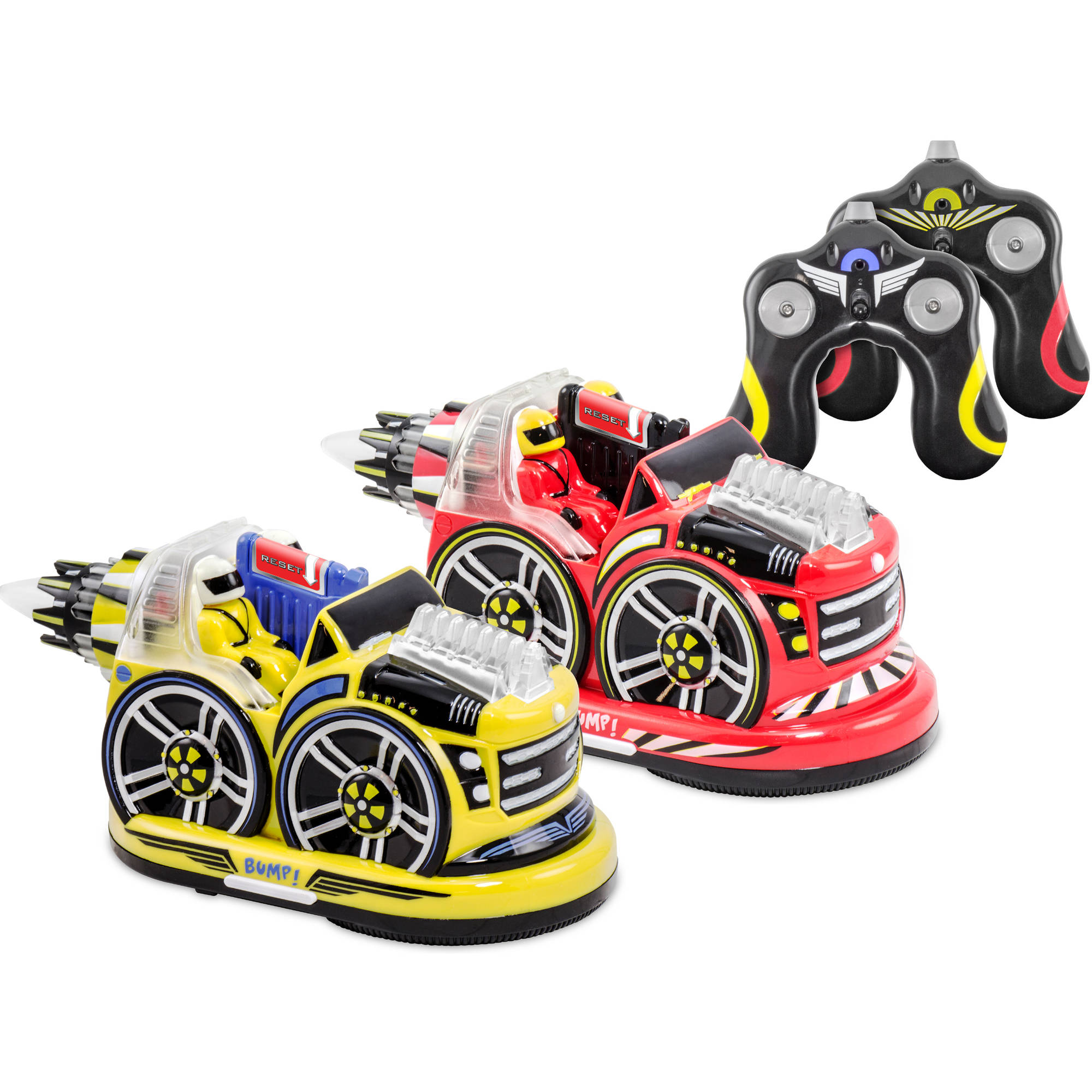 Kid Galaxy Remote Control Bumper Car Set by Kid Galaxy