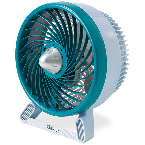 ChillOut Compact Personal Fan - Turquoise GF-59