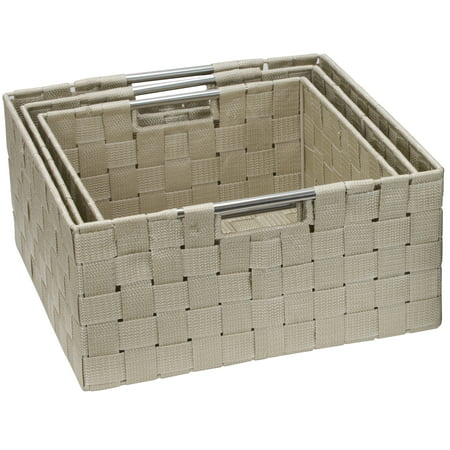 Sorbus Storage Box Woven Basket Bin Container Tote Cube