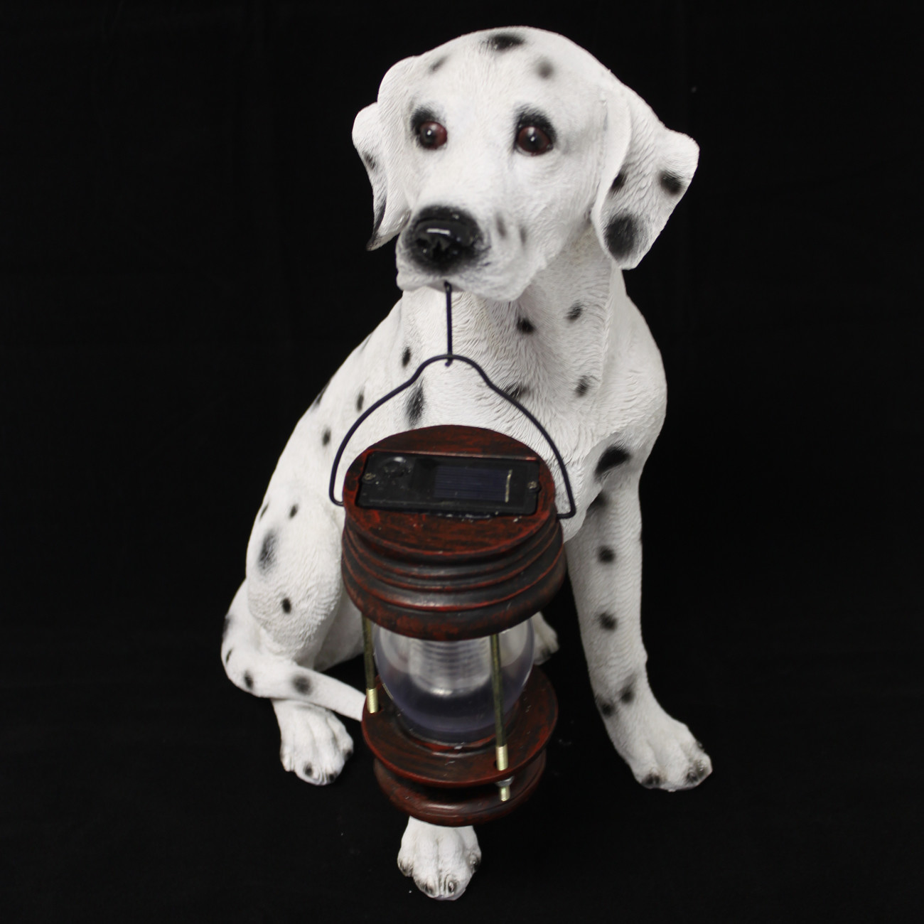 ASC Eco-Friendly Energy Saving Boxer Dog with Lantern Solar Light