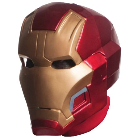 Avengers 2: Age of Ultron Deluxe Iron Man Mark 43 Mask (Smiley Movie Mask)