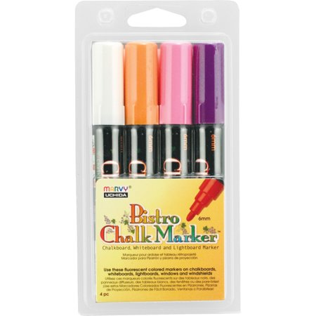 Marvy Chalkboard and Lightboard 4-Color Set B