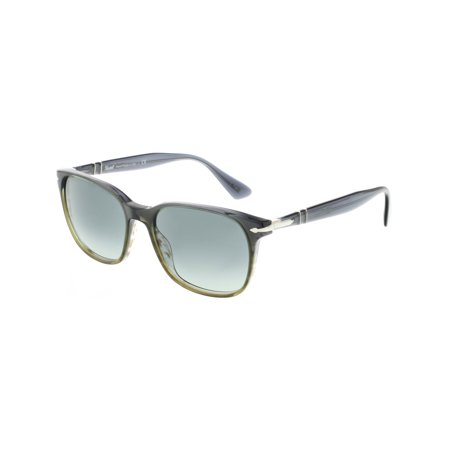 Persol Men's Gradient PO3164S-101271-56 Grey Rectangle Sunglasses