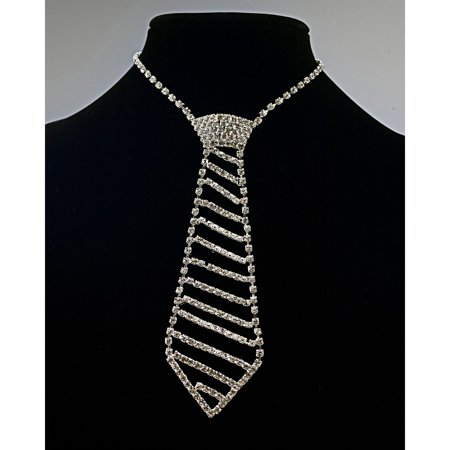 Sunnywood Rhinestone Tie Adult Halloween Costume Accessory