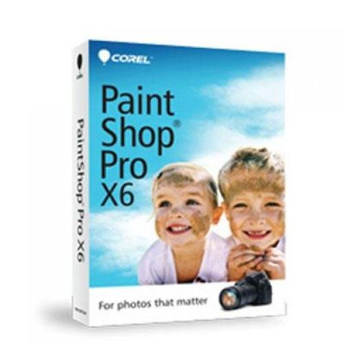 Corel Paintshop Pro X6 En Mini Box