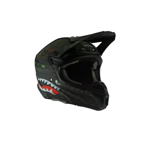 ONeal 5 Series Unisex-Adult Off-Road Helmet Black//Green, S