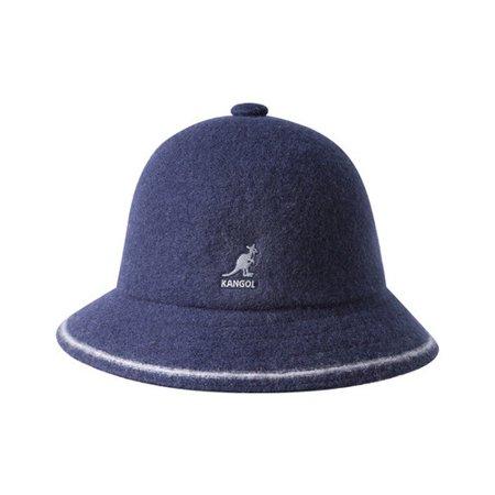 Kangol Stripe Casual Bucket Hat Kangol Unisex Accessories Hats