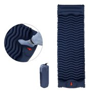 WOCLEILIY 1*inflatable cushion Sleeping Pad Mat Inflatable Durable Camping Moistureproof Cushion Pillow Outdoor
