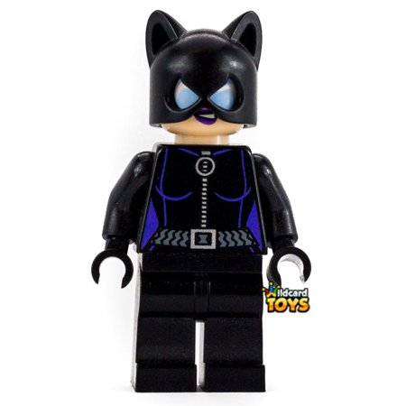 LEGO DC Superheros Catwoman Minifigure (Lego Old Catwoman)