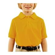 George Boys School Uniform Short Sleeve Pique Polo Shirt (Little Boys & Big Boys)