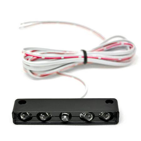 White License Plate Tag Light 5 LED Fender Lite For Suzuki SV1000 SV 1000 - image 3 de 3