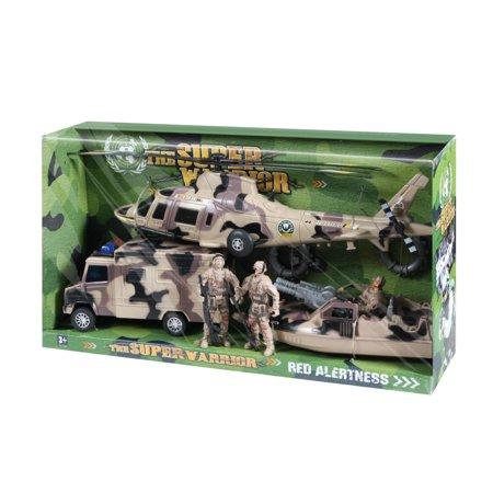 Super Warrior Vehicle Play (Super Vehicle Set)