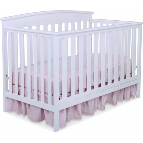 Delta Children Gateway 4-in-1 Convertible Crib, White