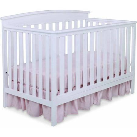 Delta Children Gateway 4-in-1 Convertible Crib, White