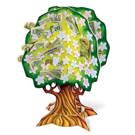 Beistle 57341 3-D Baby Shower Money Tree Pack of -