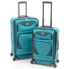 Protege 2 piece expandable spinner carry on and checked luggage set (Walmart Exclusive)